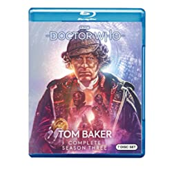 Doctor Who: Tom Baker Complete Season Three [Blu-ray]