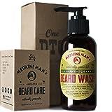 Medicine Man's Itchy Beard Wash 4,7 FL OZ - 100% Natural & Organic (Color: Natural)