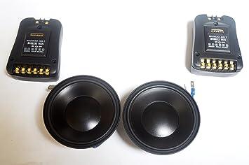 """Macrom SE240, Systèmes Slim extrêmes, puissance nominale: 90 W Réponse en fréquence de 50 à 25000 Hz, Sensibilité (1W/1m): 89 dB, le diamètre de Woofer: 4"""" (10 cm), diamètre du Tweeter: 1 Ÿ&"""