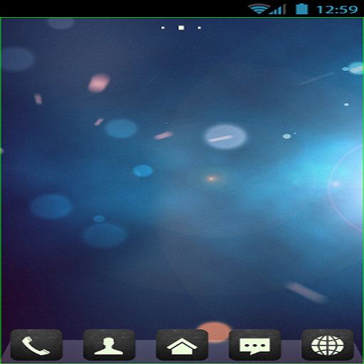 Another Blue Theme