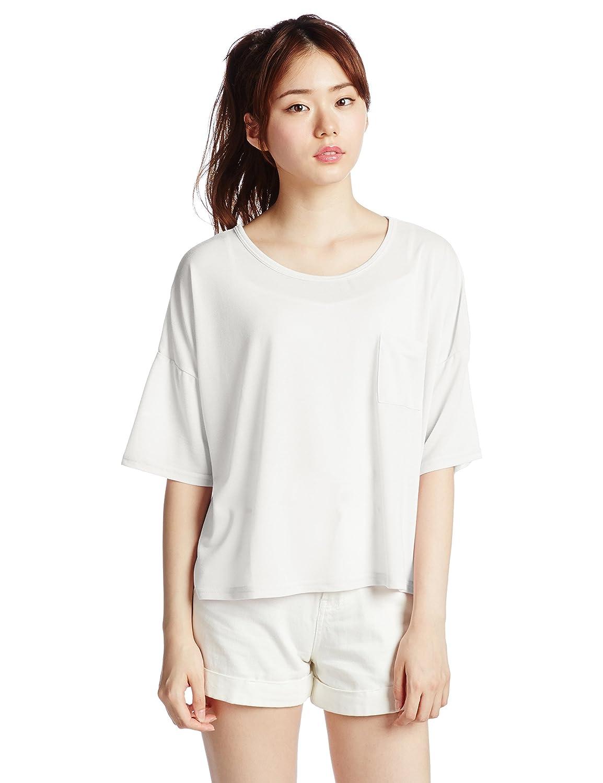 (エモダ)EMODA ワッフルルーズT/S 041510653801 00 WHT F : 服&ファッション小物通販 | Amazon.co.jp