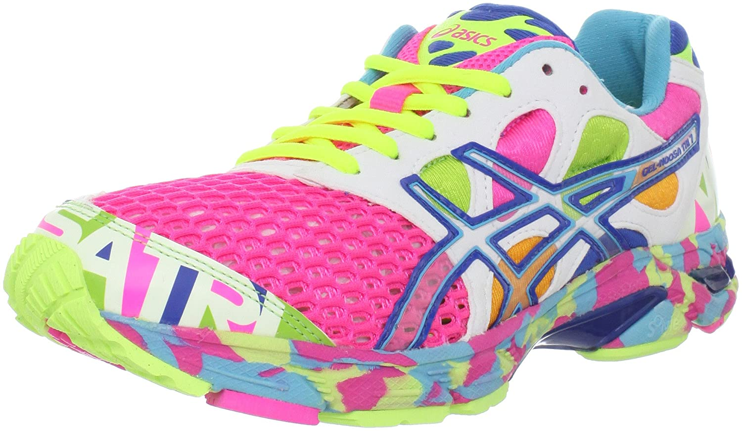Asics Gel Noosa Tri  Womens Shoes Pink Coral Glow
