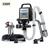 HomeRight Power Flo Pro 2800 C800879 Airless Paint Sprayer Spray Gun, Power Painting for Home Exterior, Fence, Shed, and Garage 2800 psi, 0.24 gpm (Color: Black, Tamaño: UNITS)