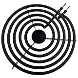SAPMP21YA Fits 9761345 8053268 660533 For Whirlpool Stove 8-inch Surface Burner (Color: Black)