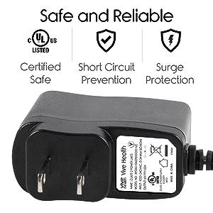 Vive Precision 6V Power Supply - AC Power Adapter - 6 Volt