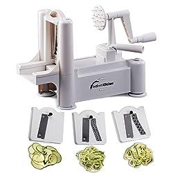 IPerfect-Kitchen-Tri-Blade Vegetable Spiralizer