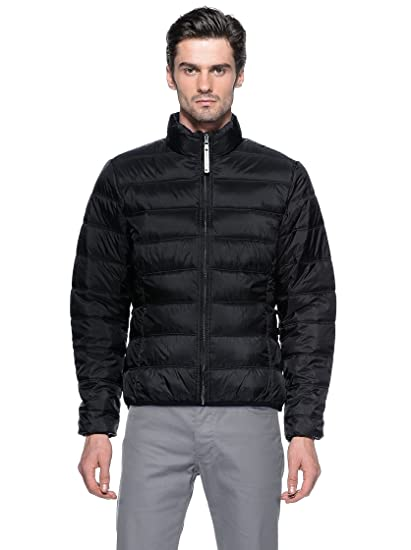 Tucano urbano 8889N5 lOW dOG-extra light down respirant and water-repellent jacket can be an worn insulating couche or as a separate veste-noir-taille l