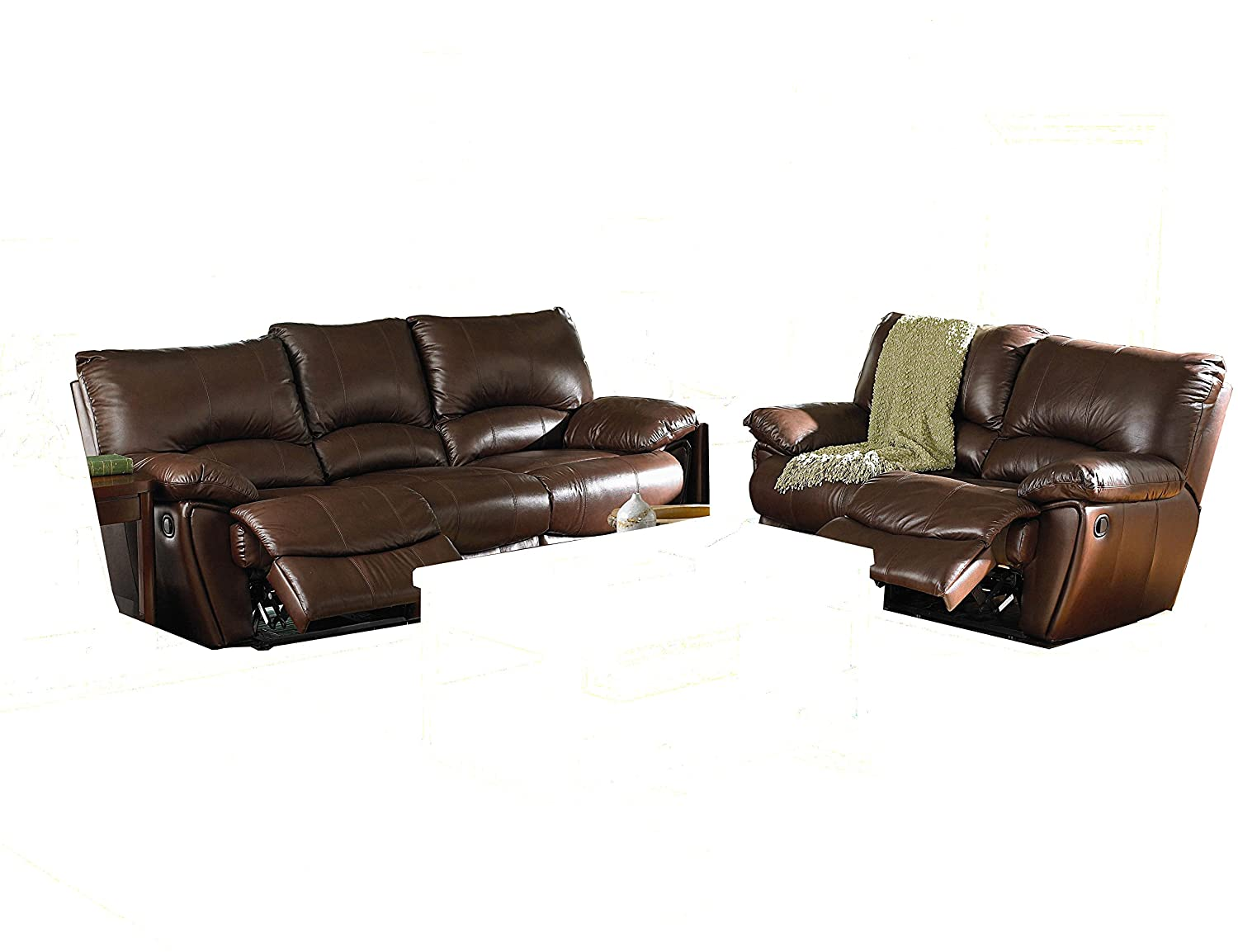 Clifford Double Reclining 2 Piece Sofa Set