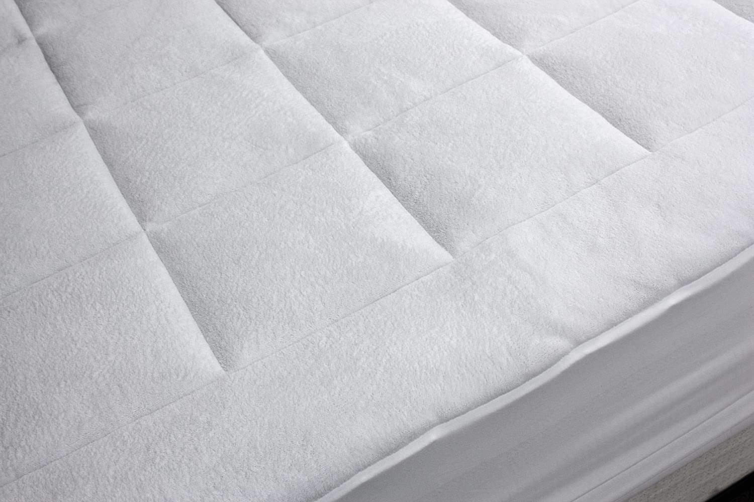 rio home fashions overfilled super soft microplush twin xl mattress pad new f ebay. Black Bedroom Furniture Sets. Home Design Ideas