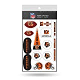 Rico Industries NFL Cincinnati Bengals Tattoo Variety Pack