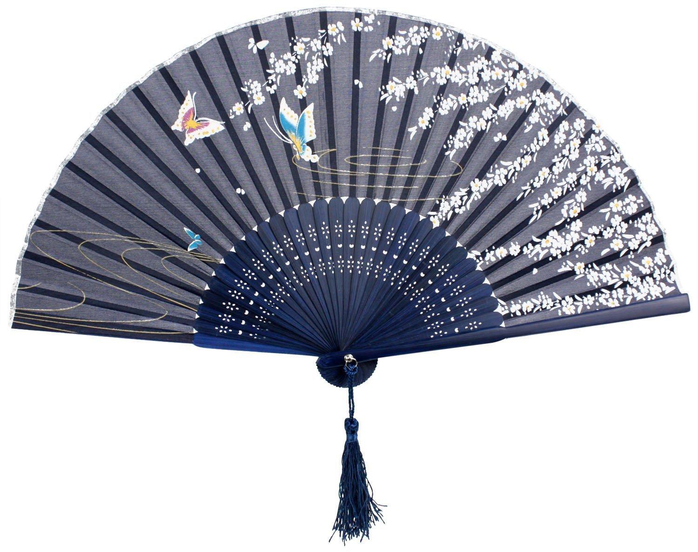 Oriental Handheld Paper Fans Fel7 Com