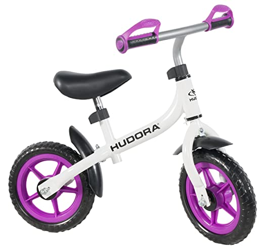 "Hudora Bikey 3.0 Draisienne Blanc/Violet 10"""