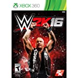WWE 2K16 for Xbox 360 rated T - Teen