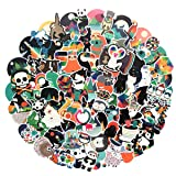 Cute Stickers(100Pcs) Colorful Animal Stickers,Laptop and Water Bottle Decal Aesthetic Sticker Pack for Teens, Girls, Women Vinyl Stickers Waterproof (Cute Animal) (Color: Cute animal)