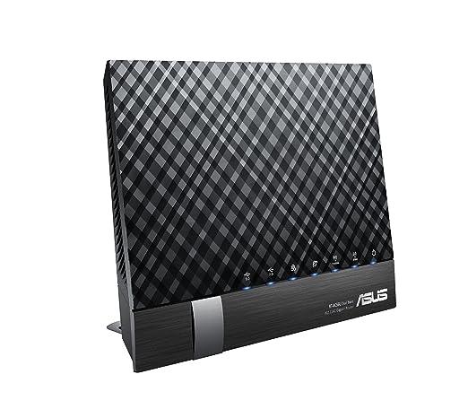 ASUS RT-AC56U AC1200 Routeur Gigabit Double Bande Wi-Fi, Mode Point d'Accès, USB 3,0 pour Serveur Média, Support Dongle 3G/4G, 802,11AC