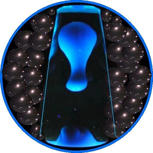 溶岩ランプ - 緩和夜の光