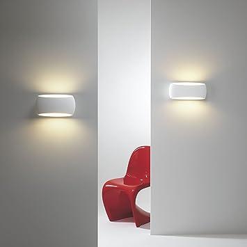 Wandlampe Wandleuchte Lampe Leuchte  Barsa-006-C Stoff mit Blenden