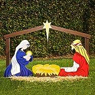 Outdoor Nativity Set Holy Family Yard Scene