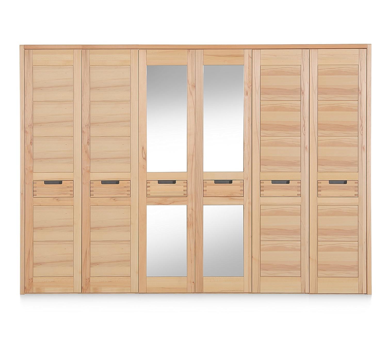 Firstloft 101-0200 6-türiger Kleiderschrank