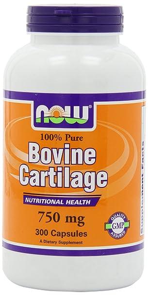 Отзывы Now Foods, Bovine Cartilage 750 mg