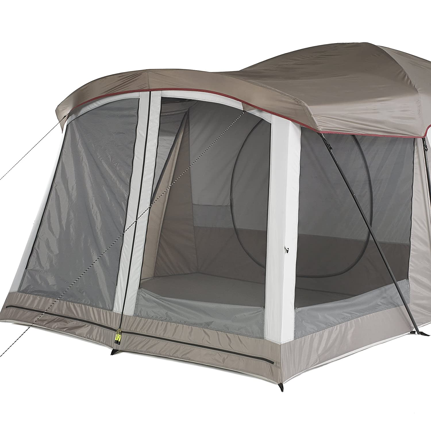 When you think about these larger tents you usually assume that theyu0027re going to take you a long time to set up. The Klondike Cabin Dome ...  sc 1 st  Traveling Monarch & Wenzel Klondike Eight-Person Family Cabin Dome Tent Review ...