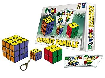 Rubik's - 0728 - Jeu D'action Et De Réflexe - Coffret Famille Rubik's Cube