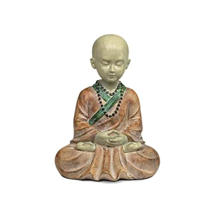 Figurine Bouddha Resine 15 cm