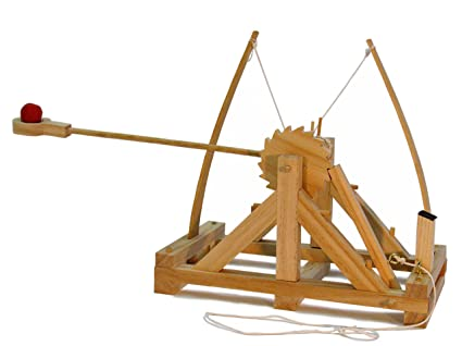 da vinci catapult kit wood 3
