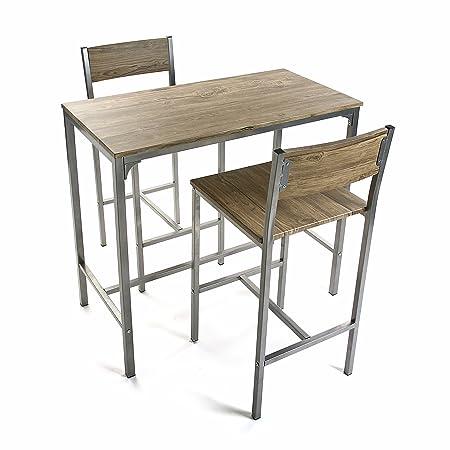 Versa 20880041  -  Set Tischen Und 2 Sesseln
