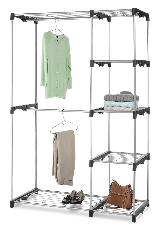 Double Rod Closet : Free standing closet