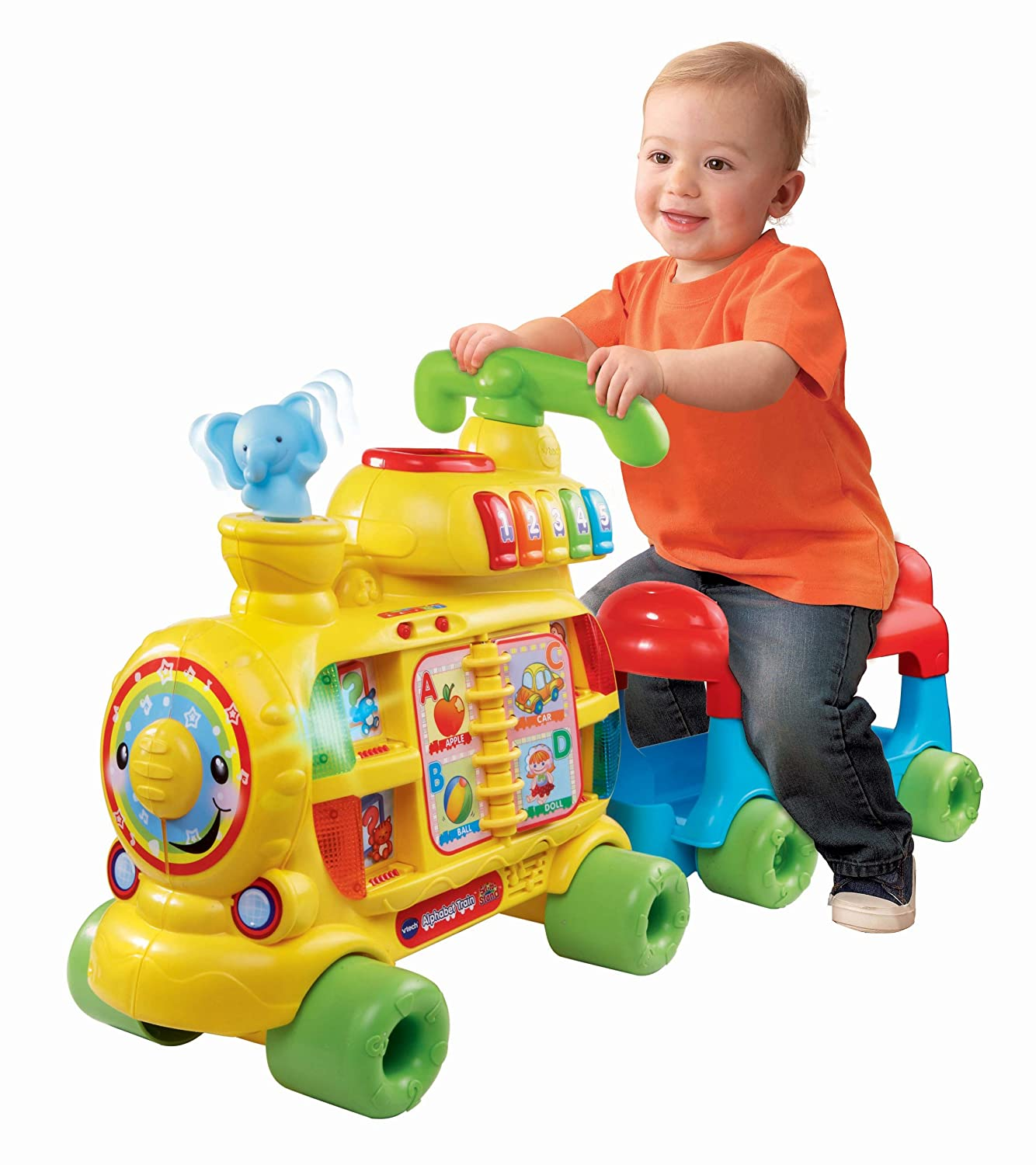 walker ride on train alphabet vtech sit to stand new learn toy for kids toddler ebay. Black Bedroom Furniture Sets. Home Design Ideas