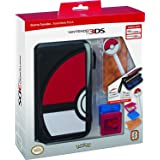 RDS Industries, Nintendo 3DS Game Traveler Essentials Pack - Black Pokeball (Discontinued by Manufacturer) (Color: Black Pokeball)
