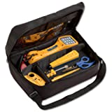 Fluke Networks 11290000 Electrical Contractor Telecom Kit I with TS30 Telephone Test Set (Tamaño: Pack of 1)