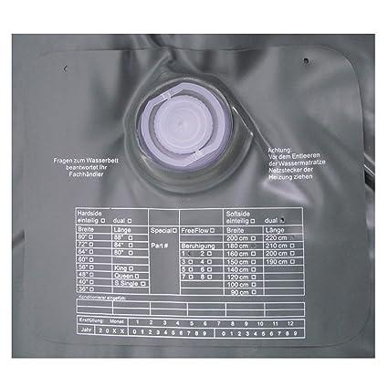 ABBCO Kuss Wassermatratze - Wasserkern Mesamoll II Softside fur Duales WB 180x200 cm F8 = kein Nachschwingen, Ultra beruhigt
