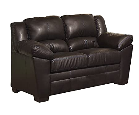 ACME 50411 Loveseat with Chocolate Bonded Leather