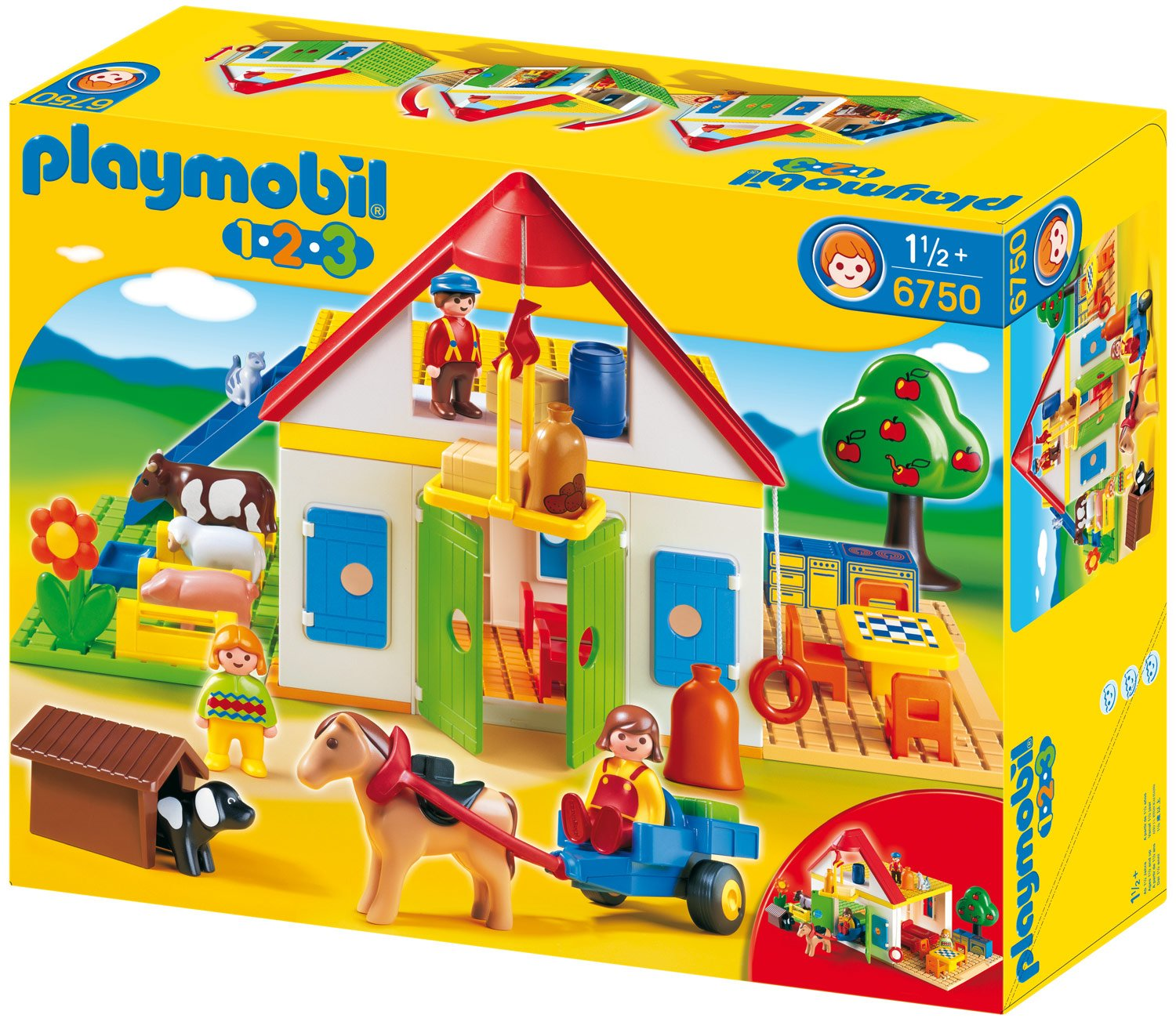 ferme playmobil 123. Black Bedroom Furniture Sets. Home Design Ideas