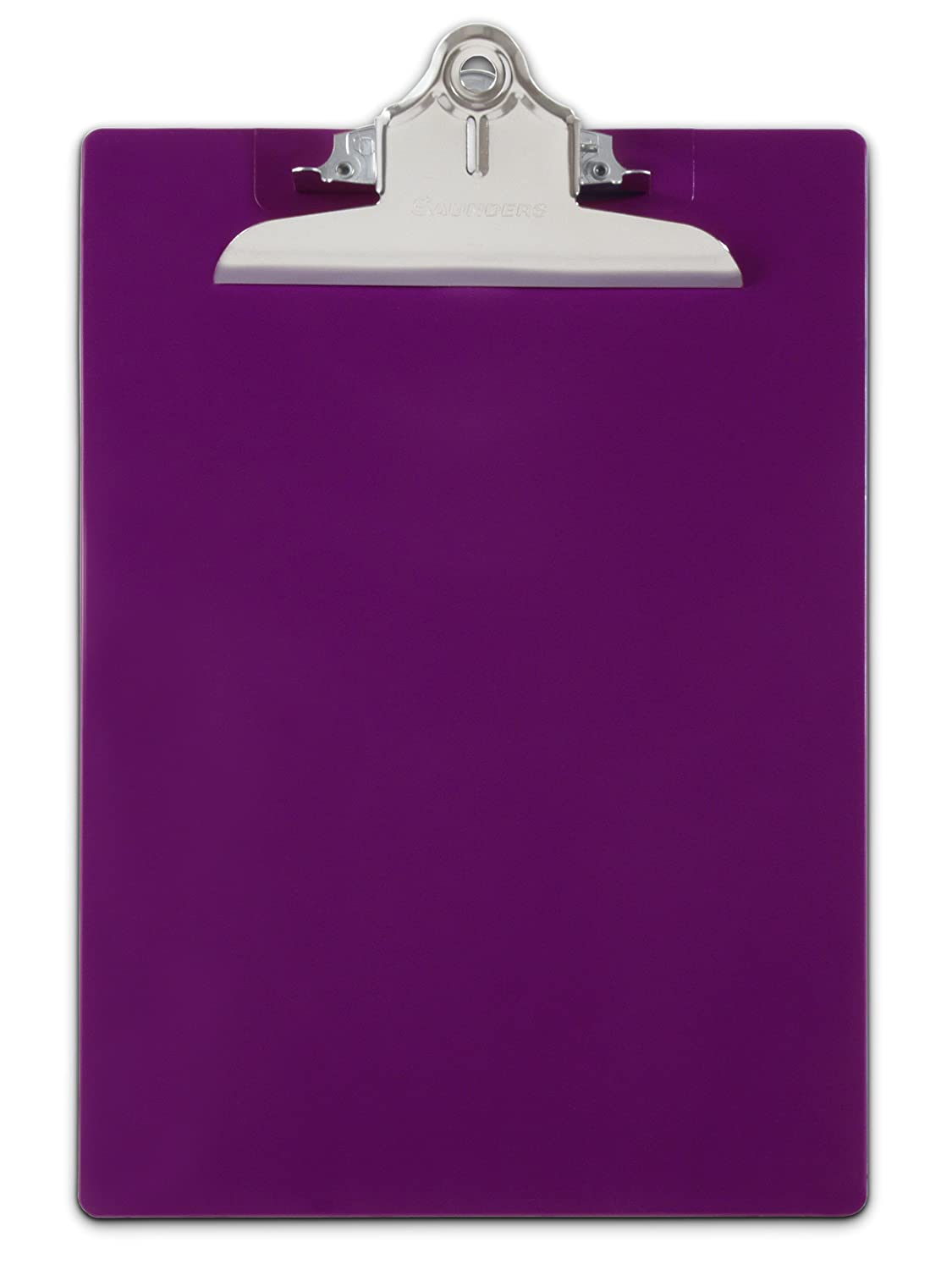 Saunders Recycled Plastic Clipboard, 1-Inch Capacity, Purple