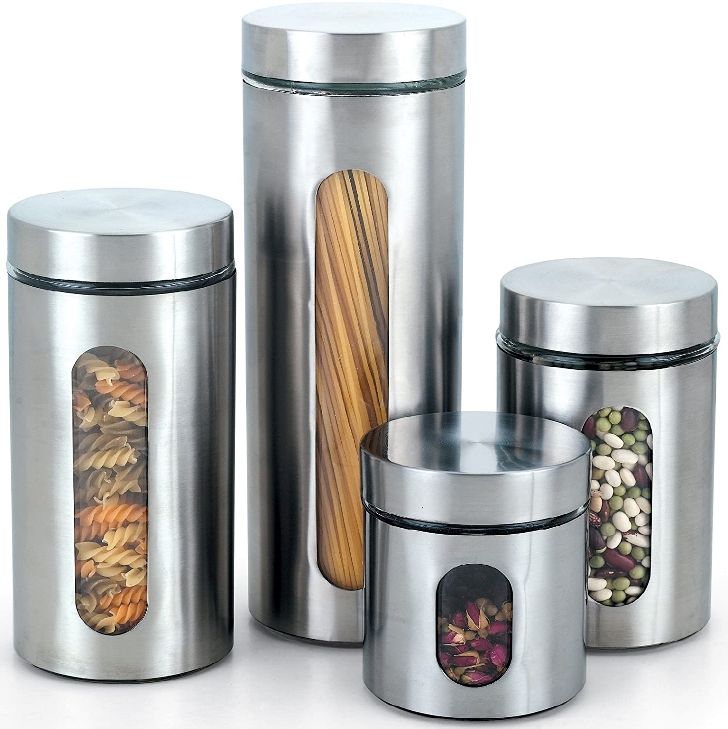 Kitchen Canister Set Stainless