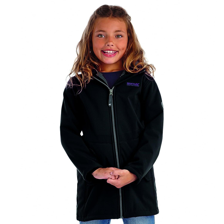 Regatta Starley Kinder Softshellmantel Mädchen Jacke Teddy Fleece Innefutter online bestellen
