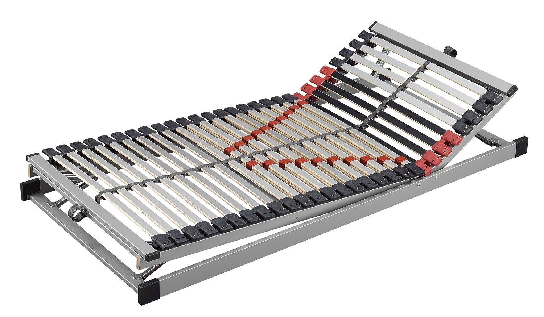Lattenrahmen Maxximus KF 2er Set Bast Schlafsysteme 28 Leisten verstellbar Braun Massivholz 80 x 200 90 100