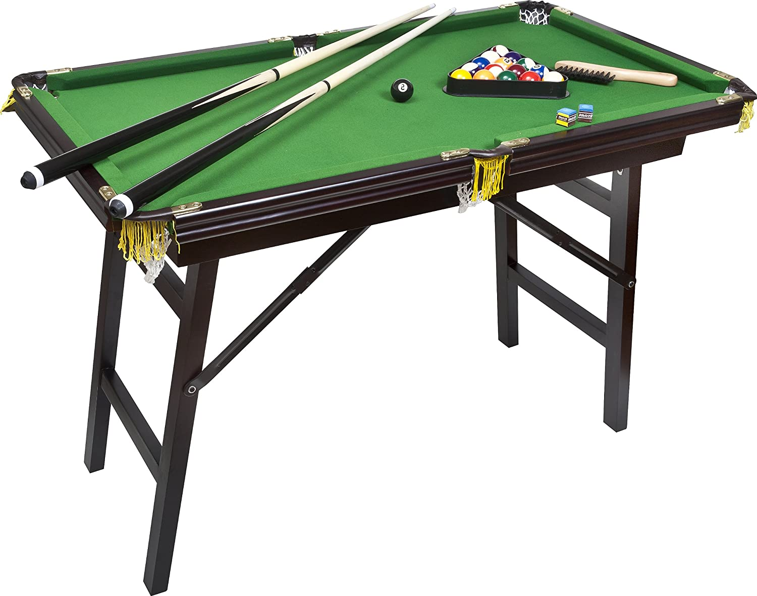 Amazing Bello Games New York, Deluxe Folding Pool Table EXTRA LARGE 44u2033
