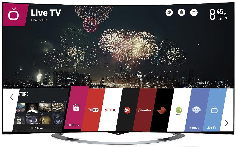 LG Electronics 65EC9700 65-Inch 4k Ultra HD 3D Curved OLED TV