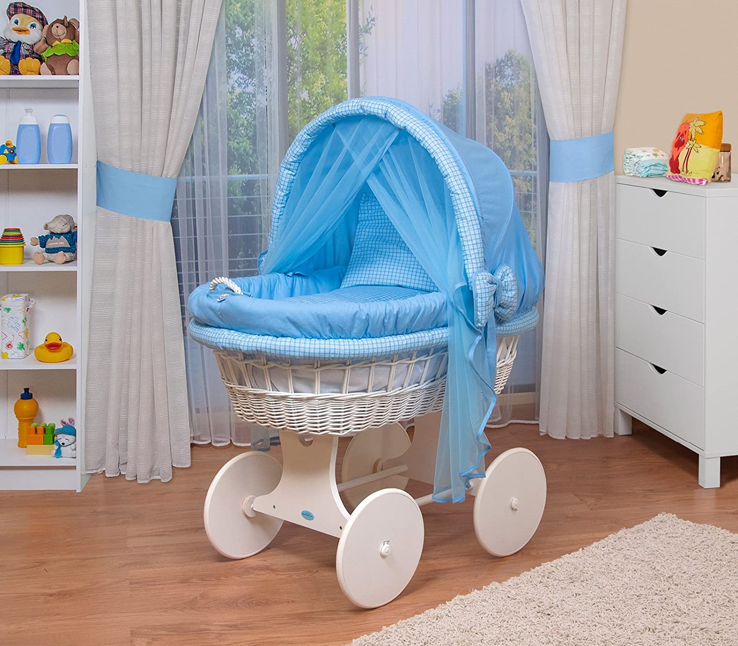 WALDIN wicker cradle