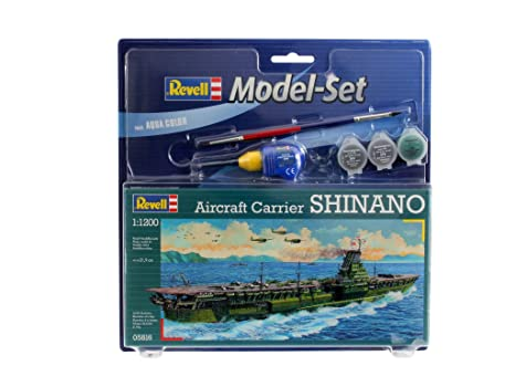 Revell - 65816 - Maquette - Model Set Aircraft Carrier Shina