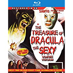 Santo In The Treasure Of Dracula: The Sexy Vampire Version [Blu-ray]