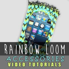 Rainbow Loom Video Tutorials: Fashion & Accessories Series - Top Rubber Band Designs Video Guide