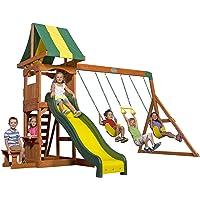 Backyard Discovery Weston Cedar Wood Swing Set