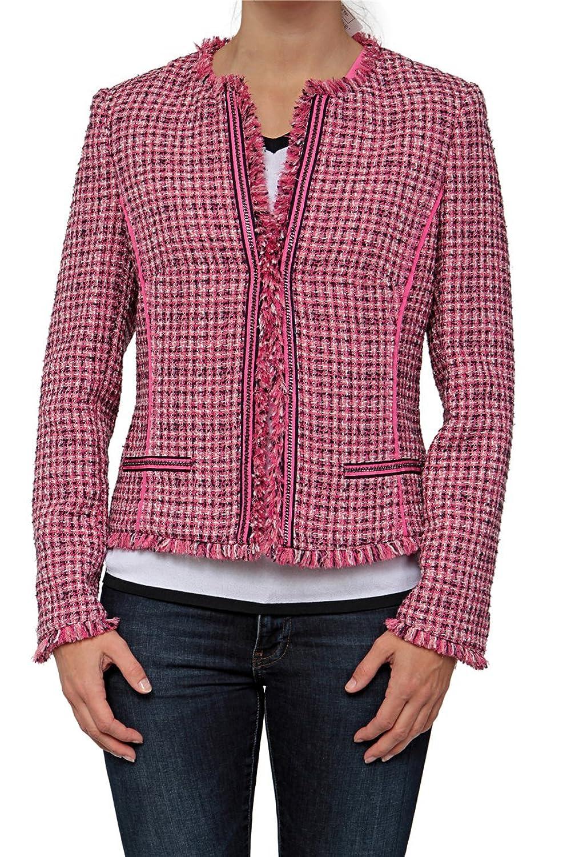 Basler Damen Blazer PINK ZEBRA, Farbe: Pink günstig
