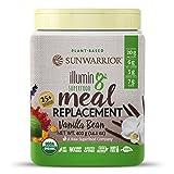 Sunwarrior - Illumin8 Superfood Meal Replacement, Vanilla Bean, 10 servings