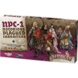 Zombicide Notorious Plagued Characters, Black (Color: Black)